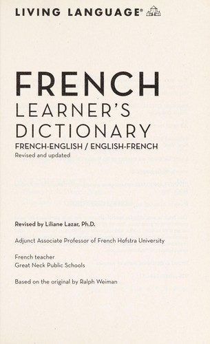 French Learners Dictionary