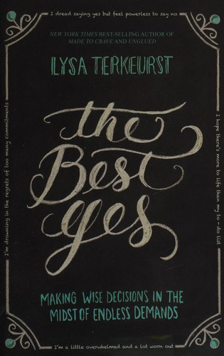 Best Yes by Terkeurst, Lysa