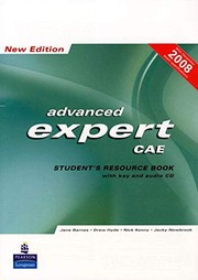 Advanced Expert CAE New Edition Student's Resource Book + key + CD