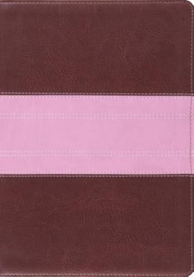 ESV Holy Bible Study TT Choc/Rose Trail