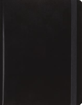 ESV Holy Bible Single Column Journaling Bible Black