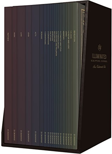 Illuminated Scripture Journal Boxed Set: New Testament
