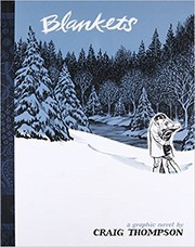 Book cover for Blankets by Craig Thompson