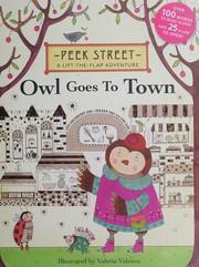 Peek Street: Owl Goes to Town, Valeria Valenza, New