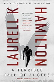 A terrible fall of angels by Hamilton, Laurell K