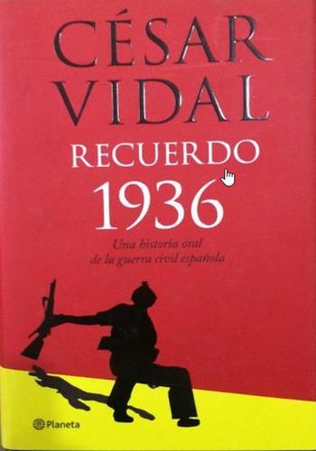 Libro de segunda mano: Recuerdo 1936