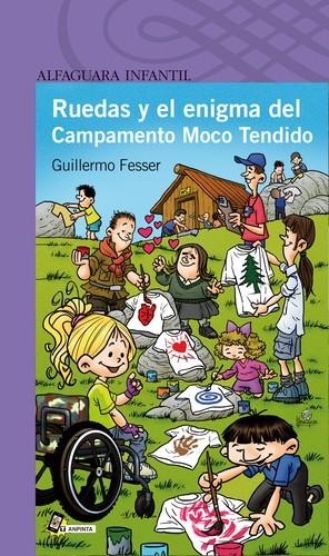 Libro de segunda mano: Ruedas y el enigma del Campamento Moco Tendido