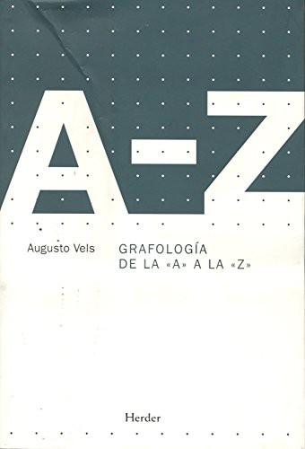Libro de segunda mano: Grafología de la A a la Z