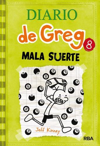 Libro de segunda mano: Diario de Greg 8: Mala suerte