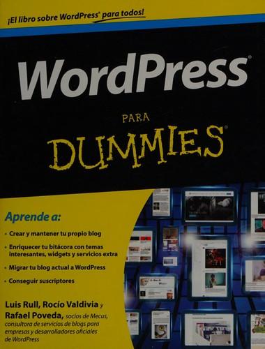 Libro de segunda mano: Wordpress para Dummies