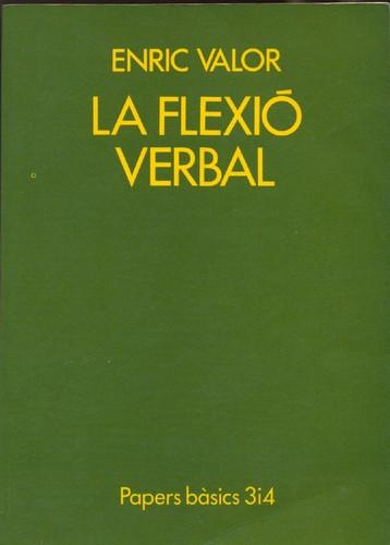 Libro de segunda mano: La flexió verbal