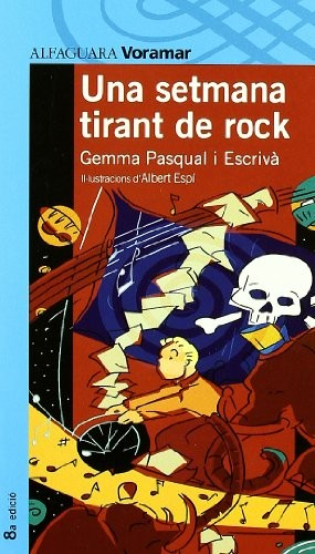 Libro de segunda mano: UNA SETMANA TIRANT DE ROCK