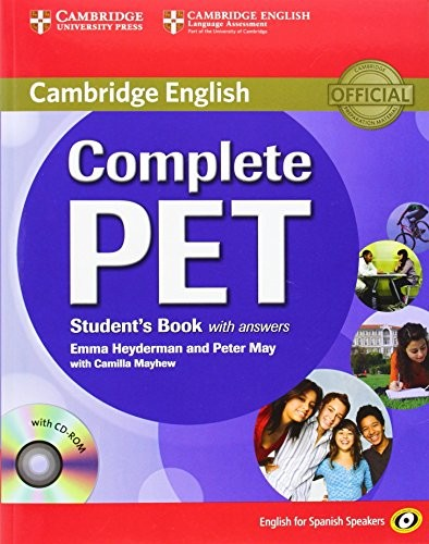 Libro de segunda mano: Complete PET for Spanish Speakers Students Book with Answers with CD-ROM