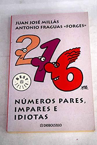 Libro de segunda mano: Números pares, impares e idiotas