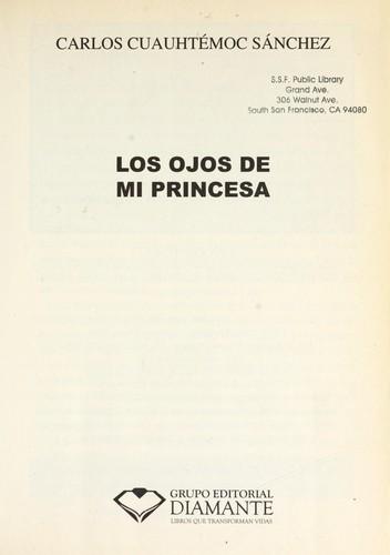 Libro de segunda mano: Los ojos de mi princesa