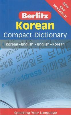Berlitz Korean Compact Diction