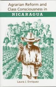 Cover of: Agrarian reform and class consciousness in Nicaragua