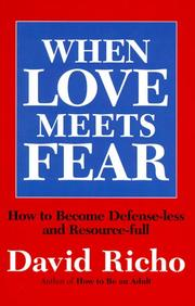 Cover of: When love meets fear