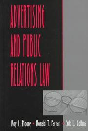 Cover of: Advertising and public relations law