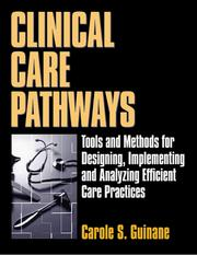 Cover of: Clinical care pathways