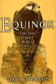 Cover of: Equinox: life, love, and birds of prey