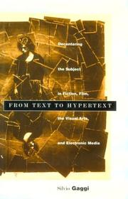 Cover of: From text to hypertext