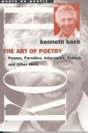 Cover of: The art of poetry