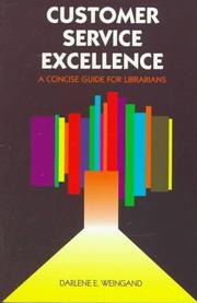 Cover of: Customer service excellence