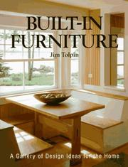 Cover of: Built-in furniture