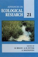Cover of: Advances in Ecological Research