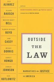 Cover of: Outside the law