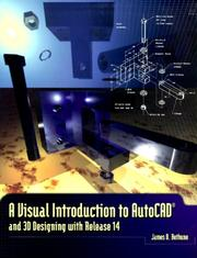 Cover of: Visual Introduction to AutoCAD and 3D Designing with Release 14, A