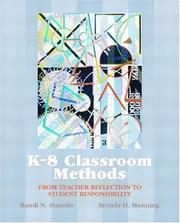 Cover of: K-8 Classroom Methods