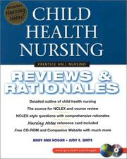 Cover of: NCLEX Review for Child Health (Book for Windows 95/98/NT and Macintosh) 6-Copy Valuepack with CDROM