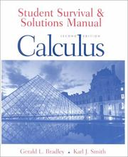 Cover of: Student Survival and Solutions Manual