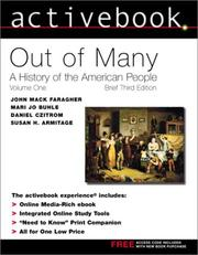 Cover of: Activebook for Out of Many