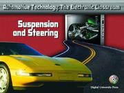 Cover of: Suspension and Steering (Automotive Technology: The Electronic Classroom)