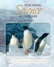Cover of: Teaching Science as Inquiry (11th Edition) (MyEducationLab Series)