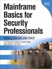 Cover of: Mainframe Basics for Security Professionals
