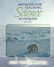 Cover of: Methods for Teaching Science as Inquiry (10th Edition)