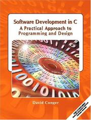 Cover of: Software Development in C