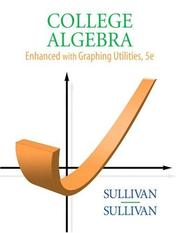 Cover of: College Algebra Enhanced with Graphing Utilities (5th Edition)