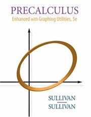 Cover of: Precalculus: enhanced with graphing utilities