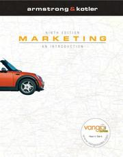 Cover of: Marketing (9th Edition)