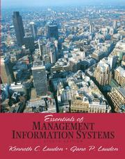 Cover of: Essentials of Management Information Systems (8th Edition)