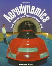 Cover of: Aerodynamics for racing and performance cars