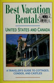 Cover of: Best Vacation Rentals: United States and Canada