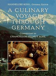 Cover of: A culinary voyage through Germany