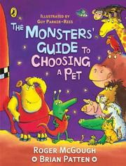 Cover of: The Monsters' Guide to Choosing a Pet (Puffin Poetry)
