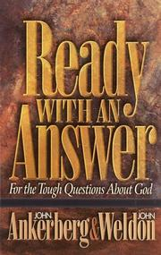 Cover of: Ready with an answer
